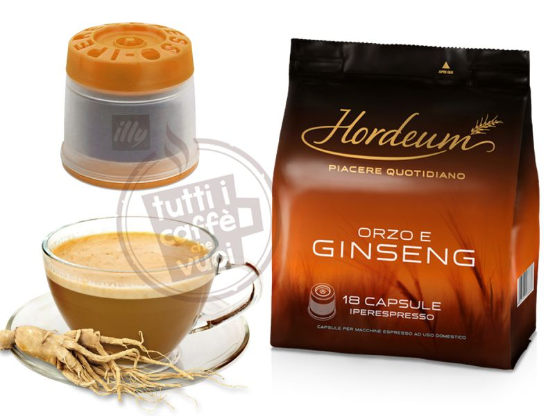 Capsule illy ginseng e orzo...
