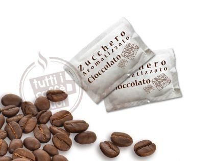 Bustina zucchero arom cioccolato