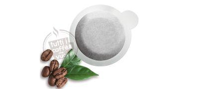 300 Cialde Borbone miscela Verde Decaffeinato filtrocarta 44 mm ESE