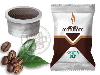 Capsule espresso fortunato crema dek...