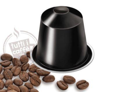 100 Capsule Lollocaffè Nero Compatibili Lavazza a Modo Mio