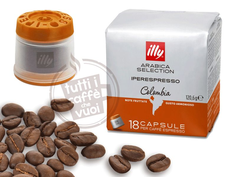 Capsule illy colombia...