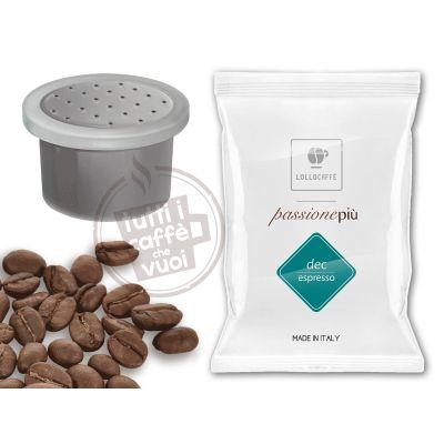 100 Capsule caffè Lollo Nero Passionespresso compatibili Nesresso