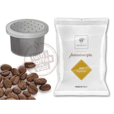 1200 Capsule caffè Lollo Nero Passionespresso compatibili Nesresso