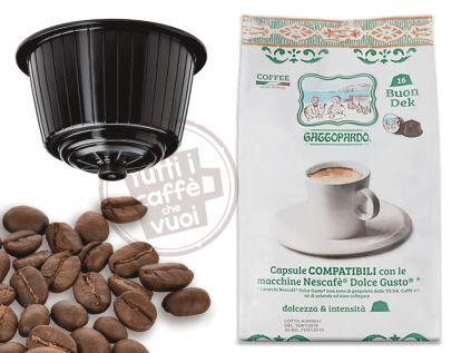 Capsule gattopardo decaffeinato...