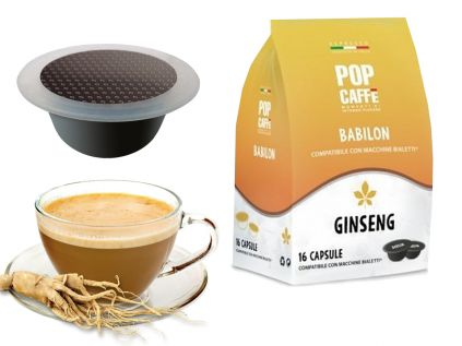 Capsule pop ginseng compatibili bialetti