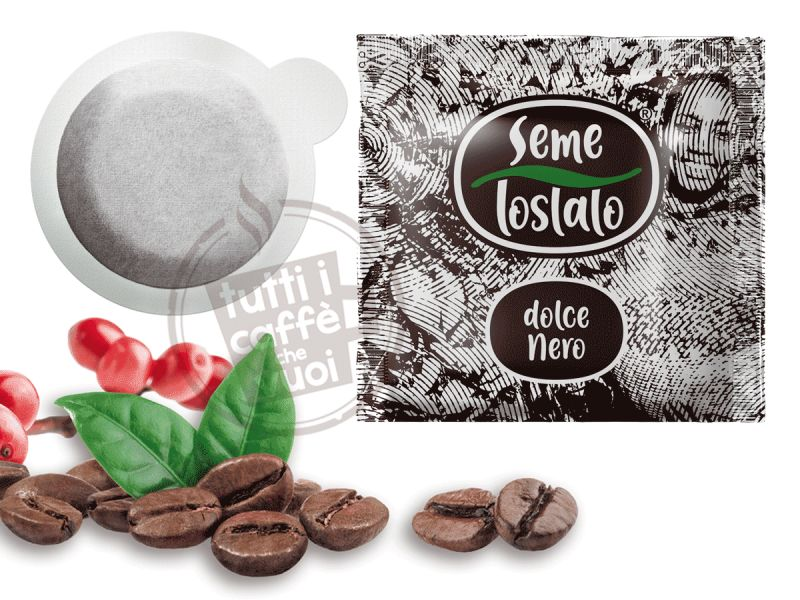 Cialde seme tostato dolce nero