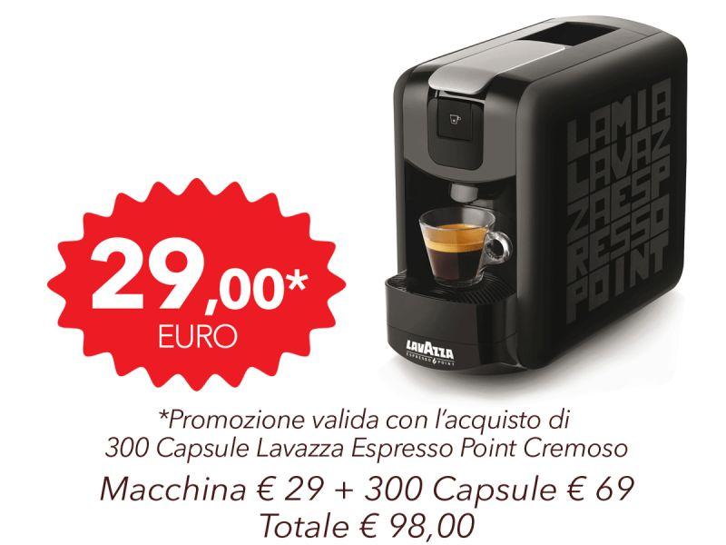 Pacchetto Macchina Lavazza...