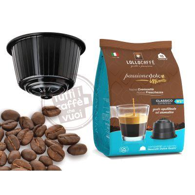 100 Capsule Gusto Crema Compatibili Uno Sistem illy e Kimbo Tutti i caffè che vuoi