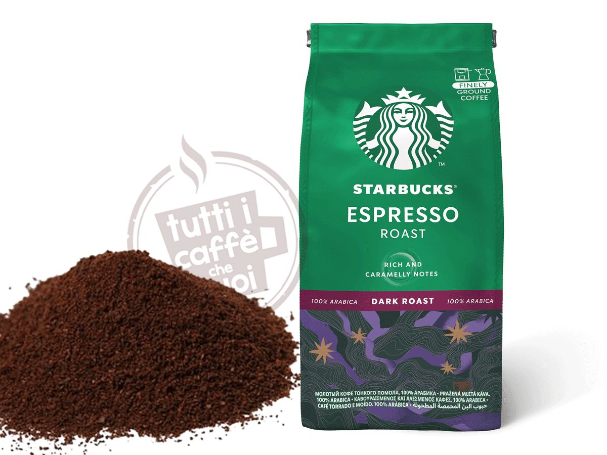 Caffe macinato starbucks...