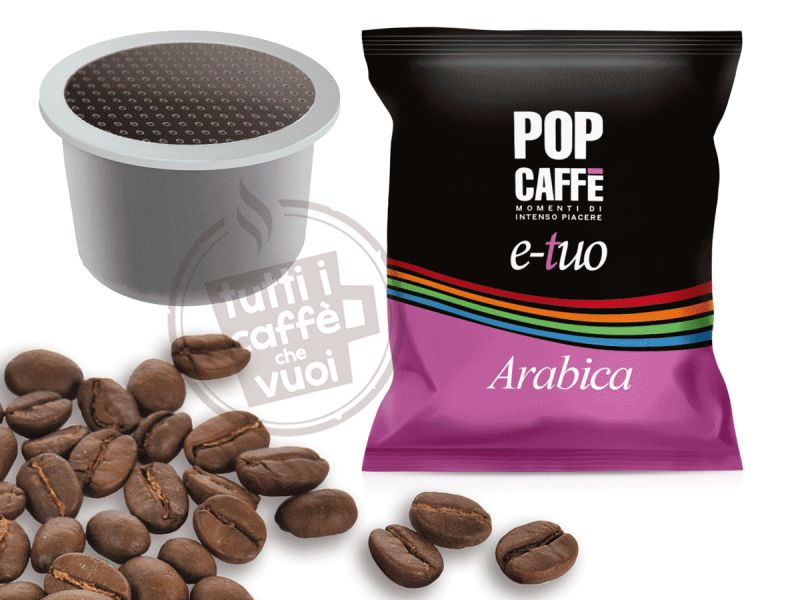 Capsule pop e-tuo arabica...