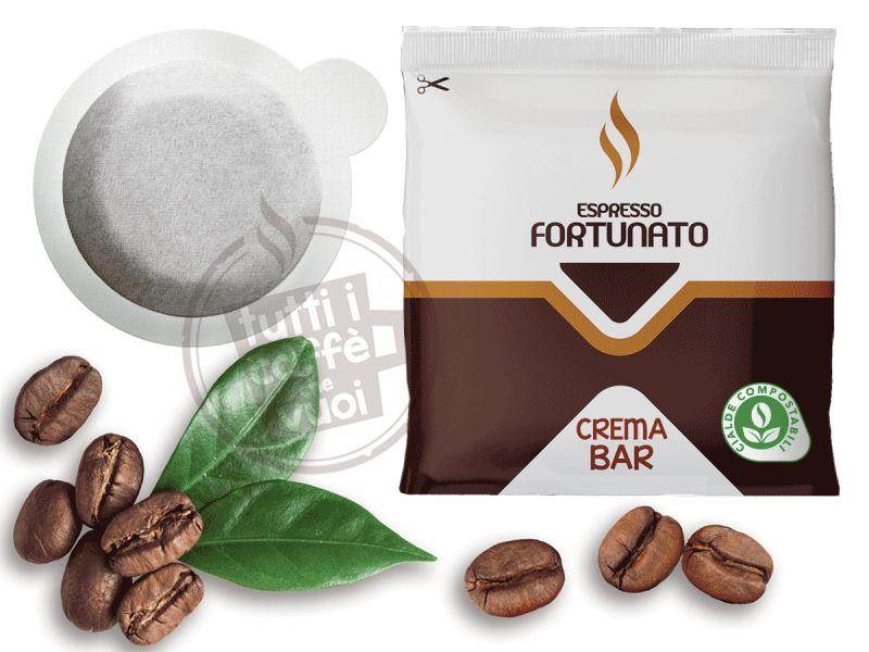 Cialde espresso fortunato crema bar
