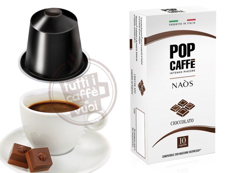 Capsule pop naos cioccolato...