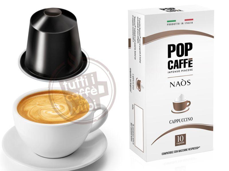 Capsule pop naos cappuccino...
