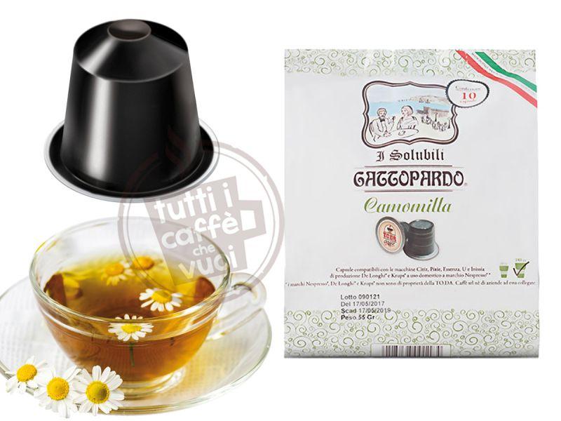 16 Capsule Tè al Limone Compatibili Lavazza a Modo Mio