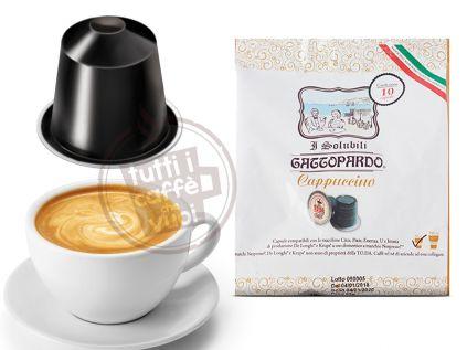 Capsule gattopardo cappuccino...
