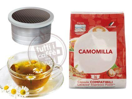 50 Capsule Camomilla Compatibili Lavazza Point
