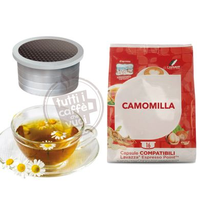 50 Capsule Camomilla Compatibili Lavazza Point