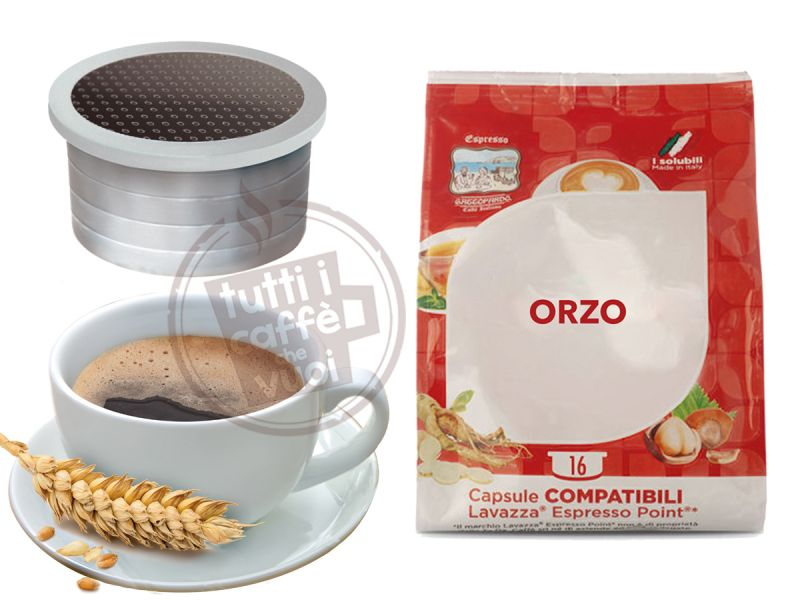 50 Capsule Orzo Compatibili Lavazza Point