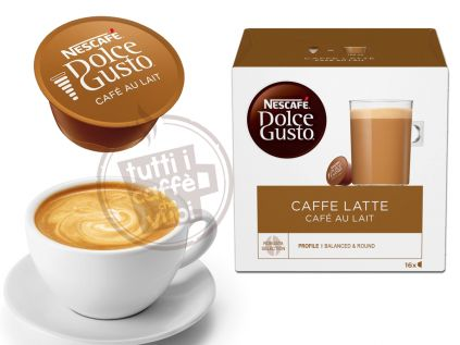 Capsule nescafe caffe e latte dolce...